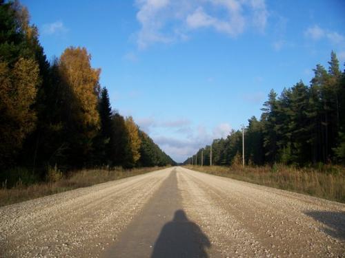 Schotterpiste (100_0947.JPG) wird geladen. Eindrucksvolle Fotos aus Lettland erwarten Sie.